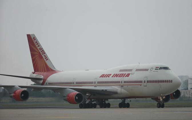 Air India lennuk.