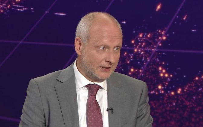 Foreign minister undersecretary Matti Maasikas appearing on Tuesday's