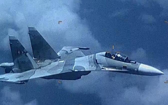 Venezuela õhuväe Su-30 USA Lõuna väejuhatuse jagatud fotol.