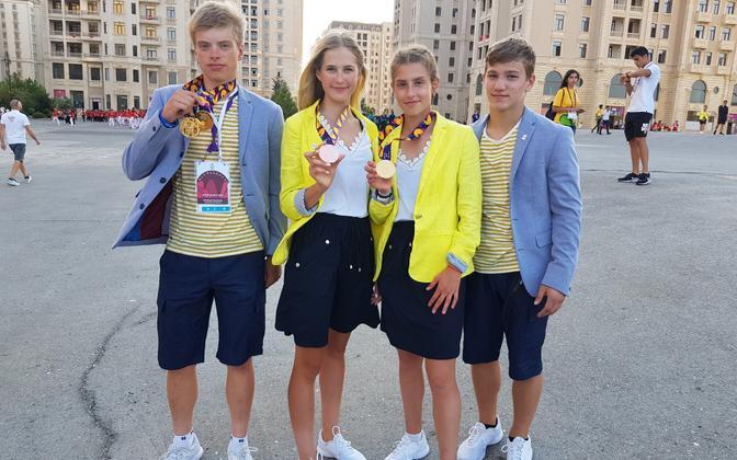 Euroopa noorte olümpiafestivali medalistid