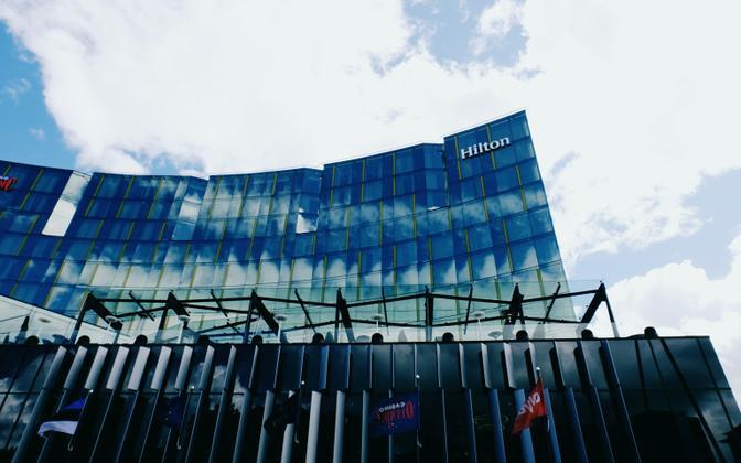 The Hilton Tallinn Park Hotel in Central Tallinn.