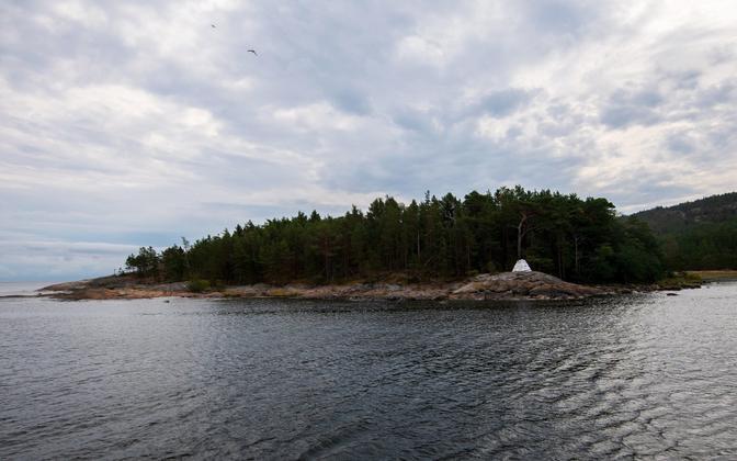 Suursaar ehk Goglandi saar Soome lahes.