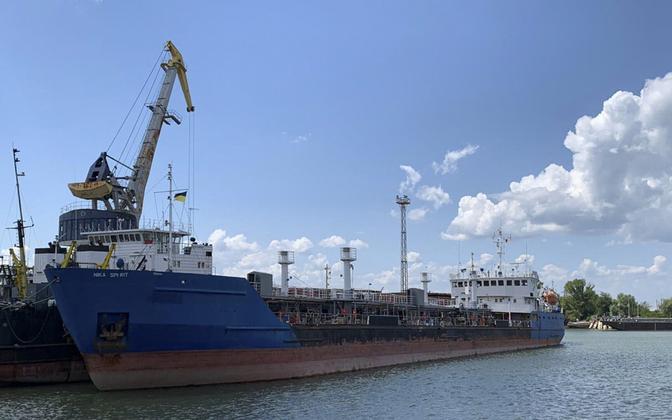 Ukraina võimude konfiskeeritud laev Nika Spirit.