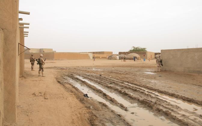 Estonian troops serve alongside French troops in Mali. Photo is illustrative.