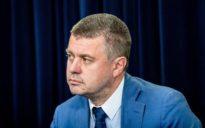 Minister of Foreign Affairs Urmas Reinsalu.