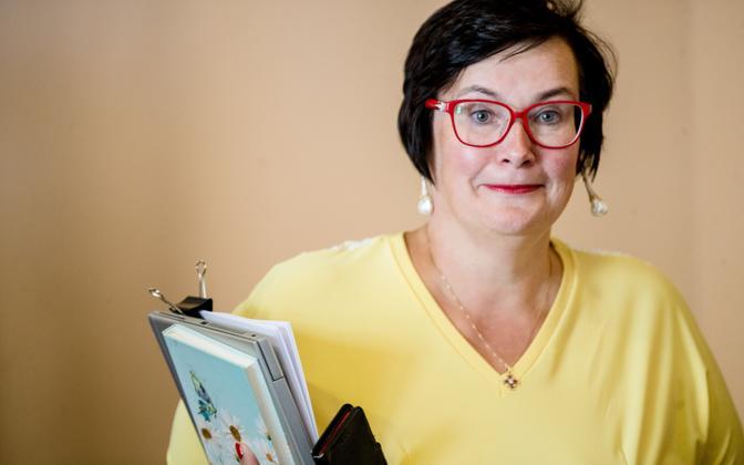 Social Democratic Party member Katri Raik.