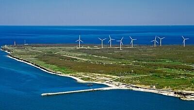 WInd turbines (photo is illustrative).