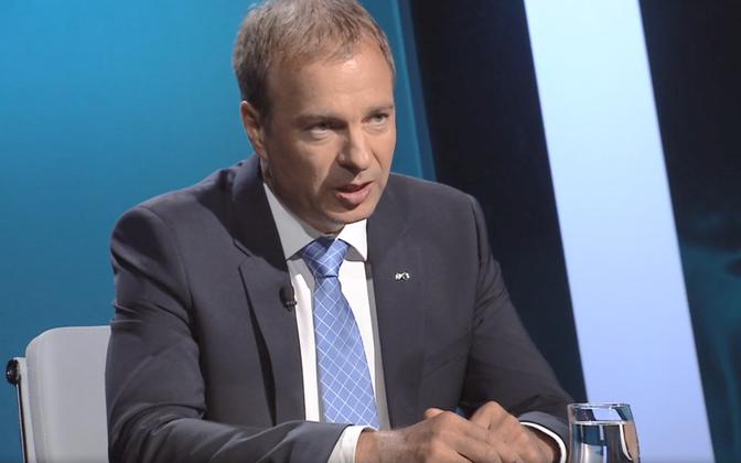 Eesti Energia CEO Hando Sutter.