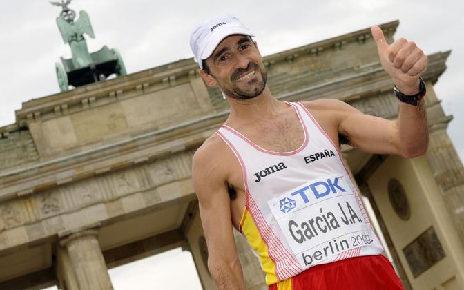 Jesus Angel Garcia 2009. aasta MM-il Berliinis