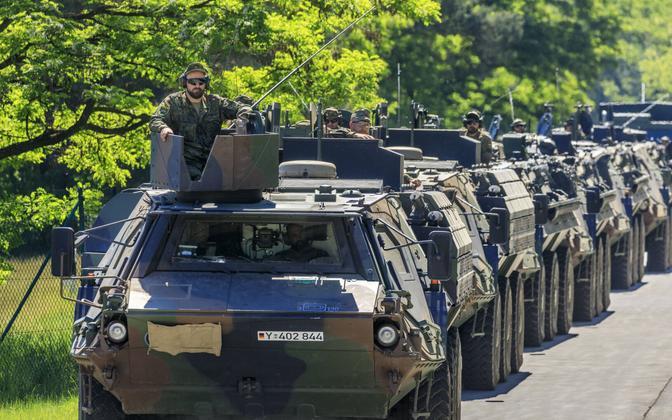 NATO manöövrid Saksamaal.