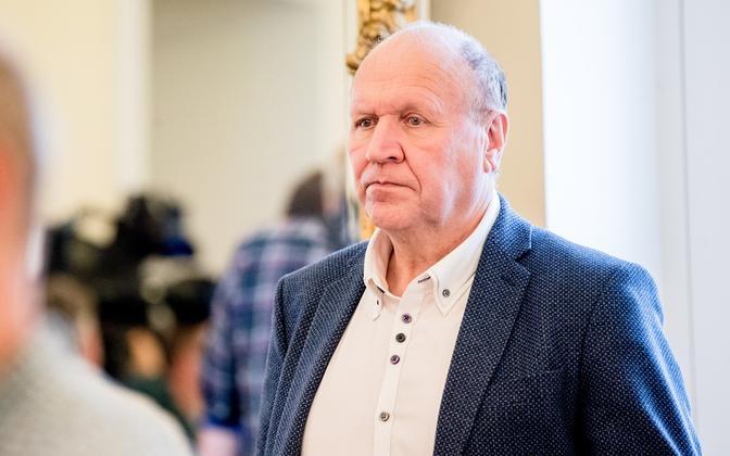 Minister of the Interior Mart Helme (EKRE).