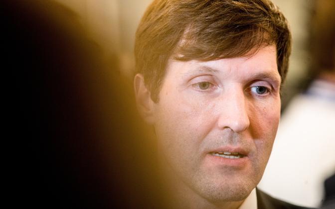 Minister of Finance Martin Helme (EKRE)