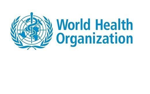 World Health Organization logo.