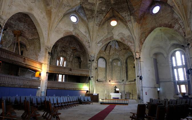 Александровская церковь в Нарве.