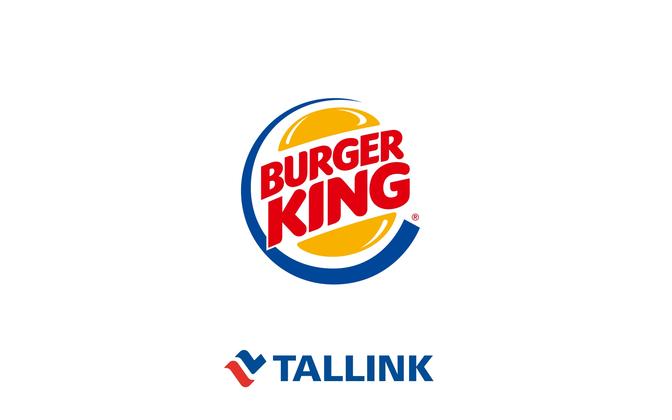 Burger King and Tallink logos.