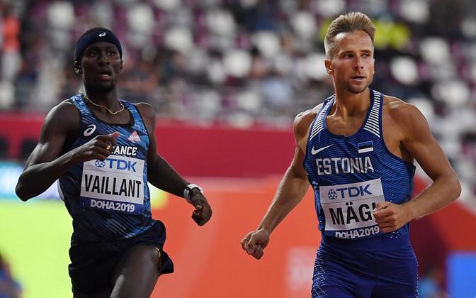 Rasmus Mägi Doha MM-il.