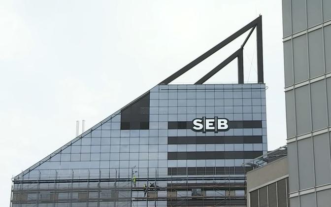 SEB headquarters in Tallinn.