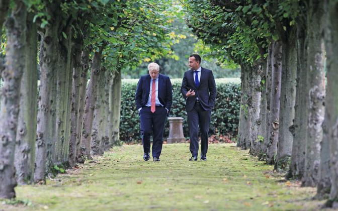 Boris Johnson ja Leo Varadkar neljapäeval kokku saamas.