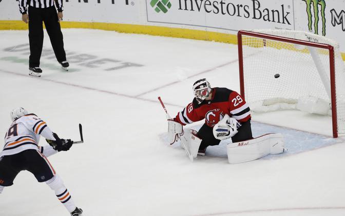 Leon Draisaitl tõi Edmonton Oilersile tähtsa võidu