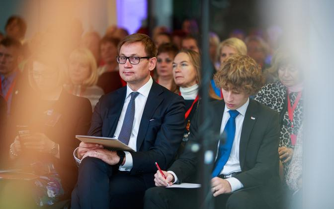 The European Trade Union Confederation (ETUC) annual congress in Tallinn. Oct. 11, 2019.