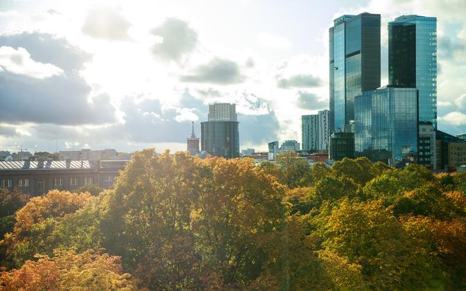 Tallinn in fall.
