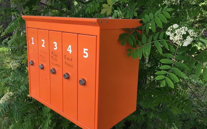 Post boxes in Estonia (photo is illustrative).