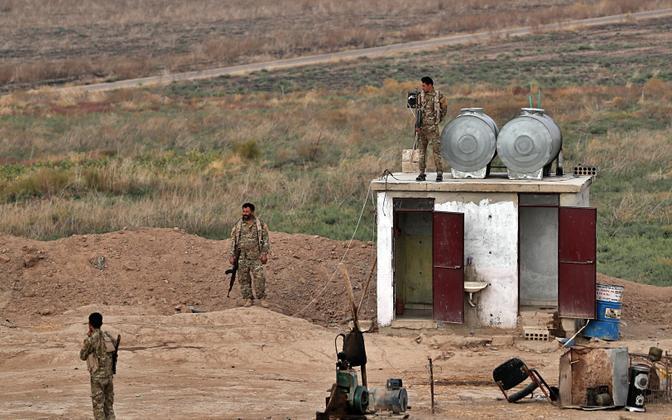 Süüria Demokraatlike Jõudude (SDF) võitlejad.