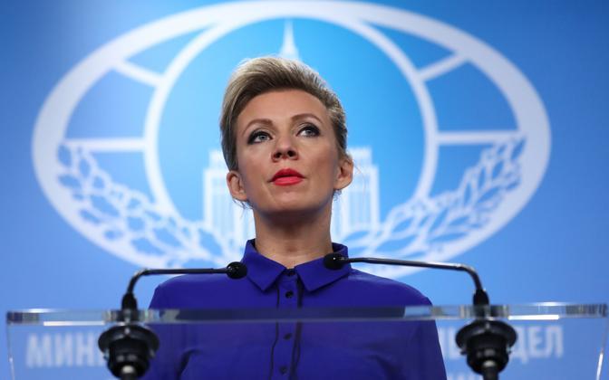 Russian Ministry of Foreign Affairs spokesperson Maria Zakharova.