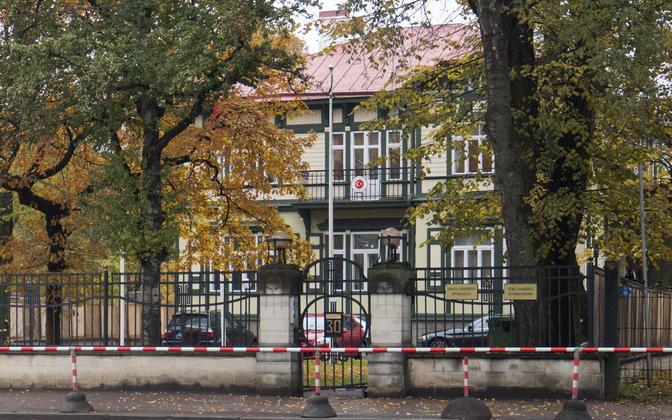 The Turkish Embassy on Narva maantee.