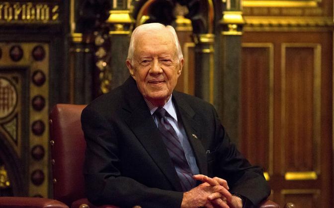 USA ekspresident Jimmy Carter.