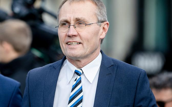 Culture minister Tõnis Lukas (Isamaa).