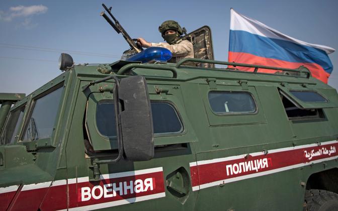 Vene sõjaväepolitsei Süürias.