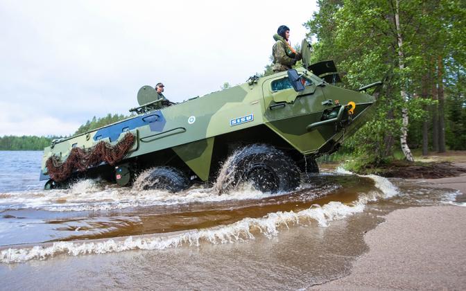 Patria Pasi soomustransportöör SISU XA-180.