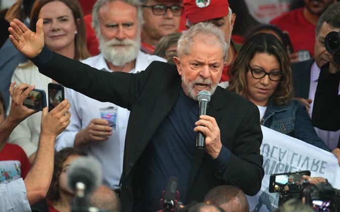Lula da Silva vanglast lahkumas.