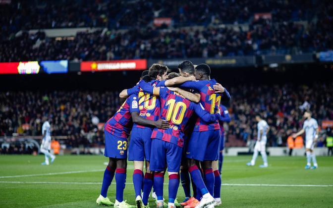 FC Barcelona mängijad