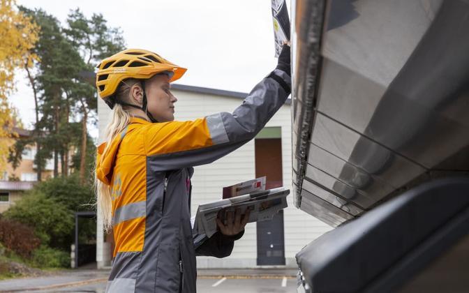 Soome postitöötaja.