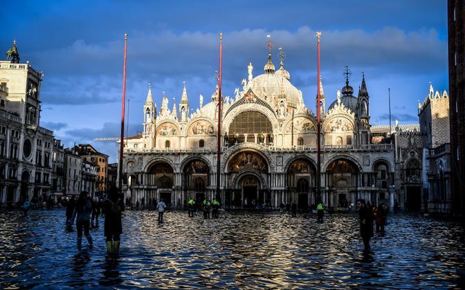 Olukord Veneetsias.