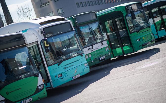 Таллиннские автобусы.