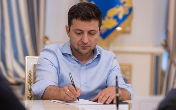 Визит Владимира Зеленского в Эстонию продлится один день.