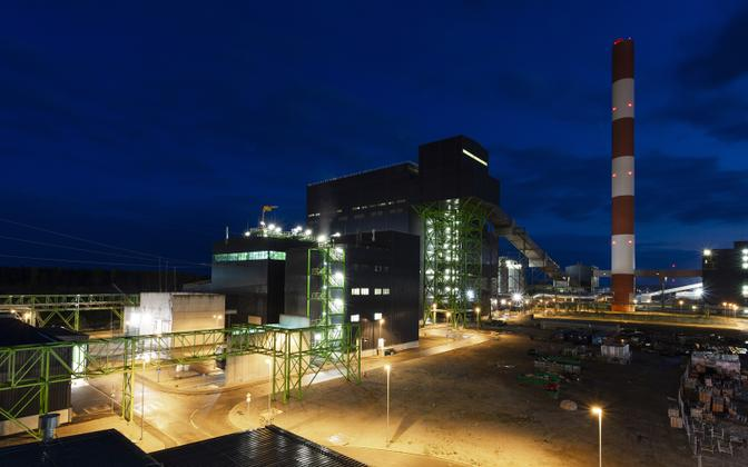 Auvere Power Plant.