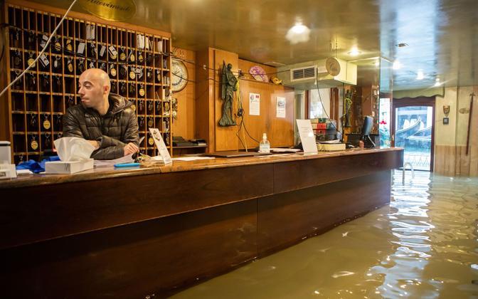 Novembri keskpaigas nähtud üleujutusi võib näha tuleviku üha sagedamini.