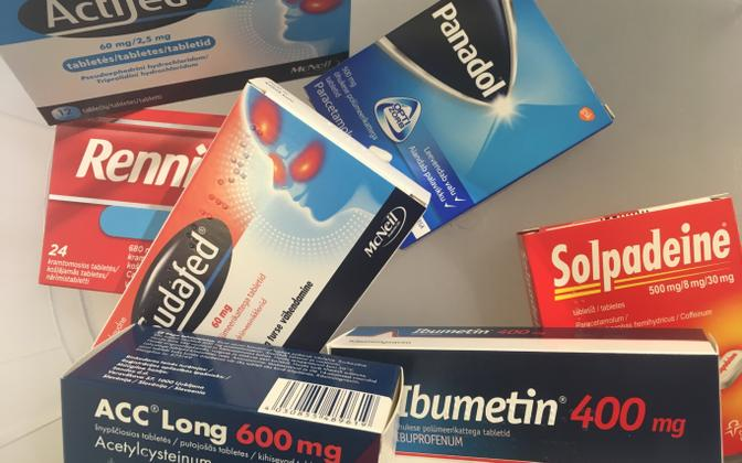 Over-the-counter (OTC) drugs.
