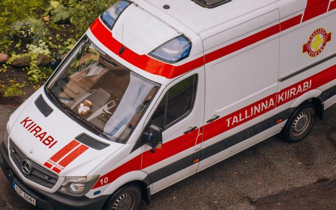 Машина скорой помощи. Иллюстративная фотография.