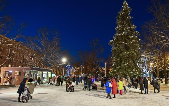 Narva's christmas tree this year.