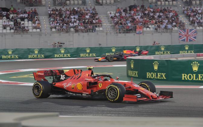 Charles Leclerc Abu Dhabi GP-l