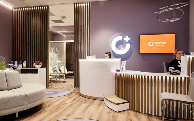 Confido center interior.