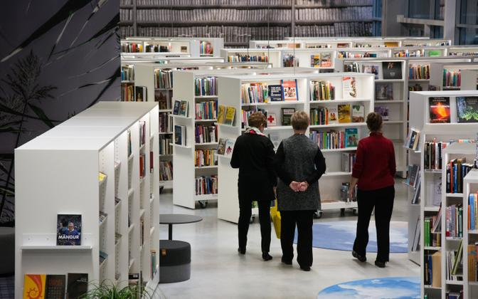 New library in Viimsi, a fast-growing municipality on the edge of Tallinn.
