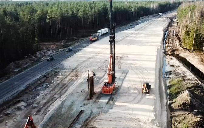 Rail Balticu ettevalmistustööd