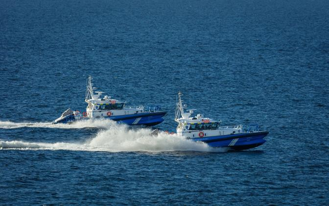 BWB-built boats, the Pikne and the Udria, in PPA service.
