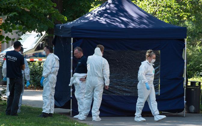 Zelimhan Hangošvili mõrva sündmuskoht Berliinis.